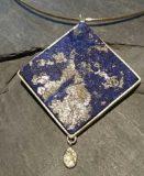 Lapis Lazuli in 585 Gelbgold